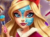 Флеш игра Макияж для принцессы