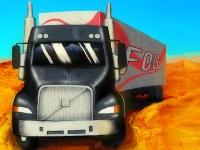 Флеш игра 18 колесный грузовик 3