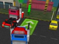 Флеш игра 18 колесный грузовик 3D
