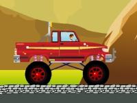 Флеш игра Бен 10 на грузовике монстре