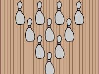 Флеш игра 2D боулинг