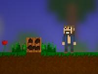 Флеш игра 2D клон Майнкрафт