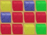 Флеш игра 3D блоки