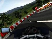 Флеш игра 3D гонка на байке