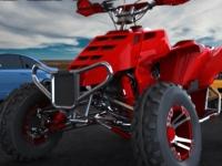 Флеш игра 3D гонка на квадроцикле