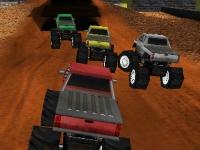 Флеш игра 3D гонка на монстрах