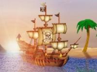 Флеш игра Пиратский маджонг