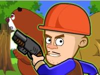 Флеш игра Гроза медведей