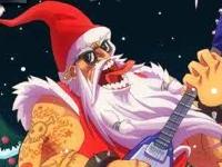 Флеш игра Рок-звезда Санта 2