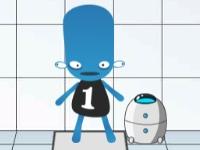 Флеш игра Робот для испытаний