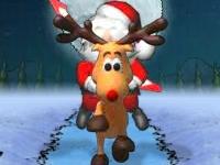Флеш игра Рок-звезда Санта 3