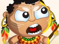 Флеш игра Аборигены против пришельцев