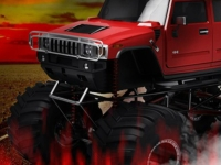 Флеш игра Адский грузовик монстр