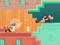 Флеш игра Агент с пушкой