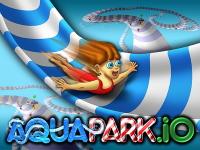 Флеш игра Аквапарк: Огромная горка