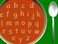 Флеш игра Алфавитный суп