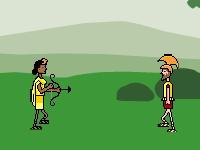 Флеш игра Амазонки против Афинян