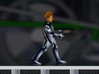 Флеш игра Андроид против роботов