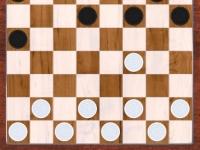 Флеш игра Английские шашки 3D