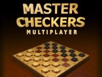 Флеш игра Английские шашки по сети
