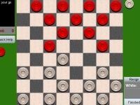 Флеш игра Английские шашки