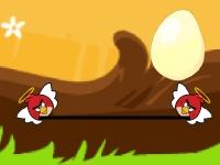 Флеш игра Angry birds: Спасение яиц