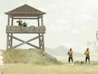 Флеш игра Антитеррористическая операция в Ливии