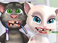 Флеш игра Анжела и Том у дантиста