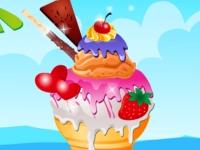 Флеш игра Аппетитное мороженое