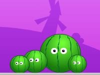 Флеш игра Арбуз и шипы: Дополнительные уровни