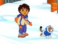Флеш игра Арктическое приключение Диего