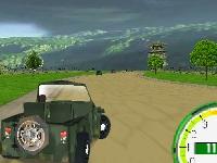 Флеш игра Армейская гонка