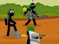Флеш игра Армия стикменов: Командная битва