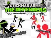 Флеш игра Армия стикменов: Защита базы