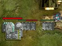 Флеш игра Артиллерийская оборона