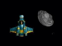 Флеш игра Астероиды