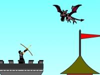 Флеш игра Атака динозавров TD