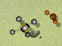 Флеш игра Атака роботов-клонов