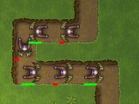 Флеш игра Атака жутких зомби: Возрождение