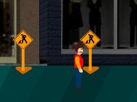 Флеш игра Аварийное здание