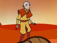 Флеш игра Аватар Аанг: Путешествие через лаву