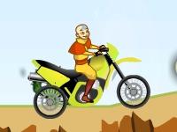 Флеш игра Аватар Аанг на байке