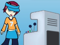 Флеш игра Автомат мороженного