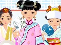 Флеш игра Азиатская красотка