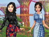 Флеш игра Азиатские принцессы