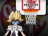 Флеш игра Бакуган: Баскетбол