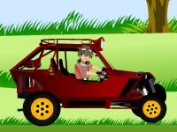 Флеш игра Бакуган на машине
