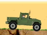 Флеш игра Бакуган на военной машине
