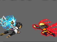 Флеш игра Бакуган против Наруто: Бомбермен