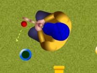Флеш игра Бампер гольф